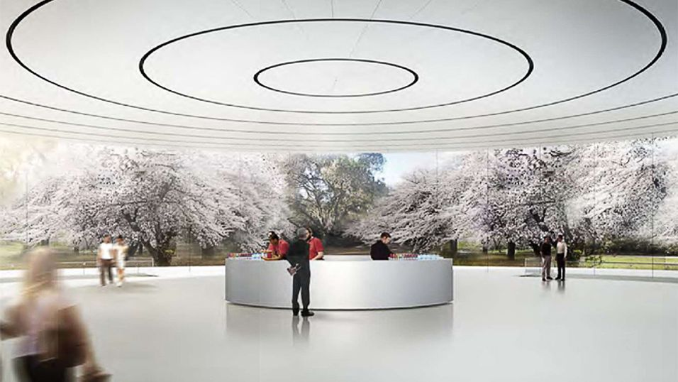 Slik blir Apples futuristiske hovedkvarter