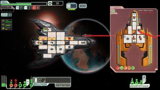 FTL - Faster Than Light var en av de første Kickstarter-spillene som ble sluppet. Til stor suksess.