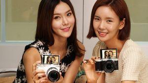 Dette kameraet fra Samsung kjører Tizen-operativsystemet.