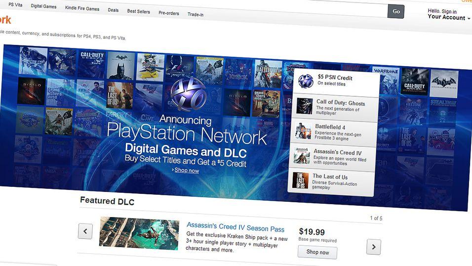 Nå kan du kjøpe digitale PlayStation-spill på Amazon