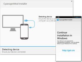 En egen CyanogenMod Installer skal gjøre det svært lett å bytte til den alternative Android-utgaven.