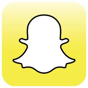 Stadig flere bruker Snapchat.