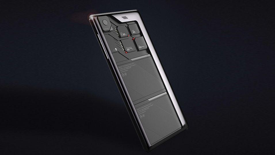 Ta en titt på denne spesielle smarttelefonen