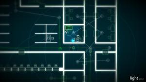 Spillets presentasjon er minimalistisk.