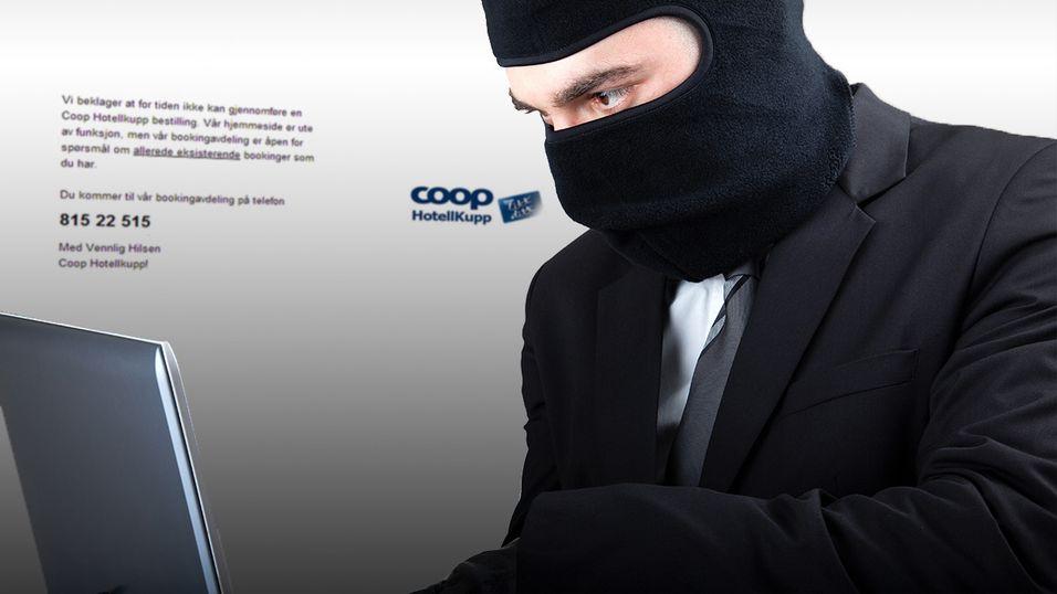 96000 norske kredittkort hacket