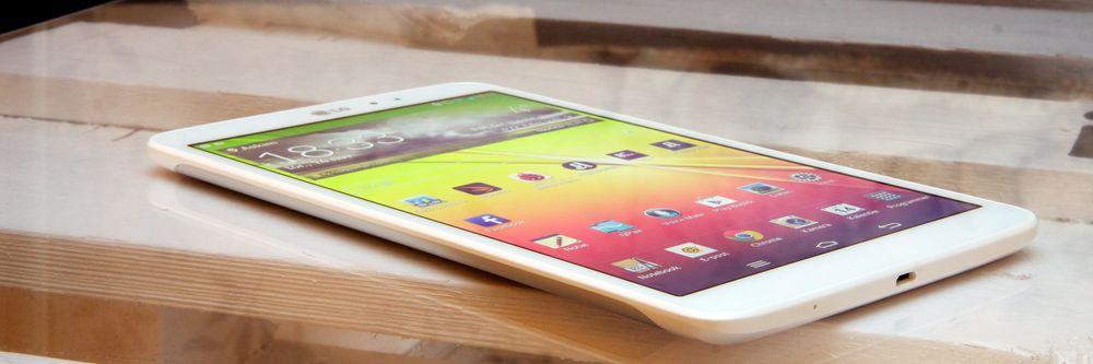 LG G Pad 8.3 er et tynt og lett nettbrett med gode spesifikasjoner.