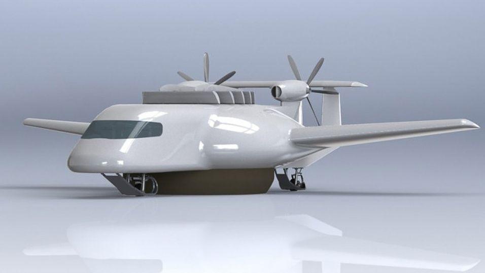 Hybridmaskin kombinerer det meste som kan fly