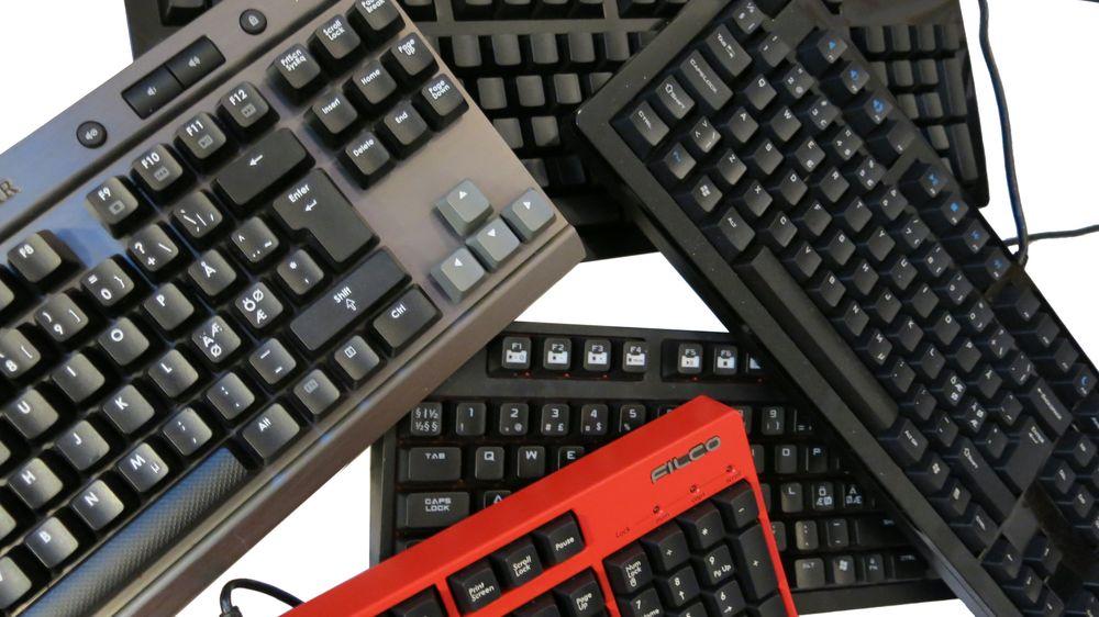 ANBEFALING: Dette er de beste spilltastaturene