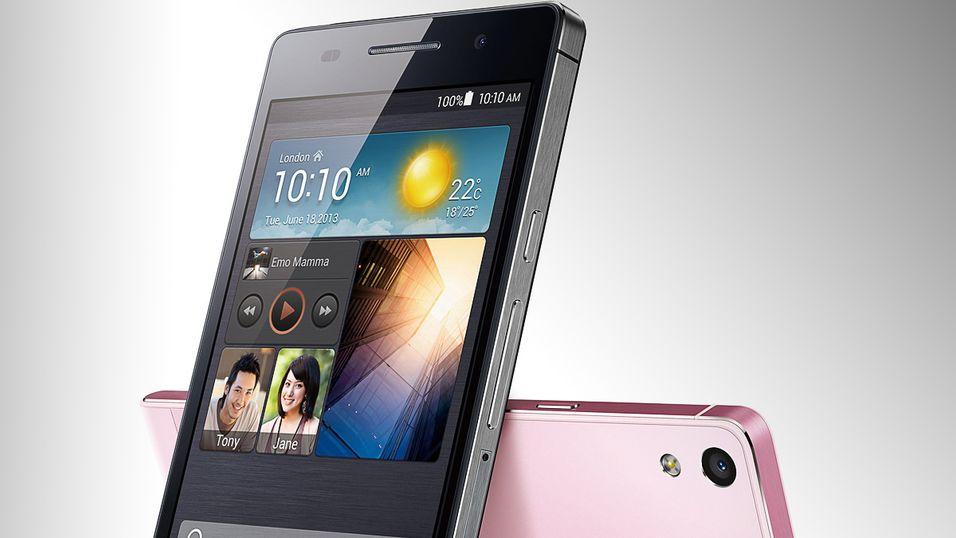 Forgjengeren Huawei Ascend P6.