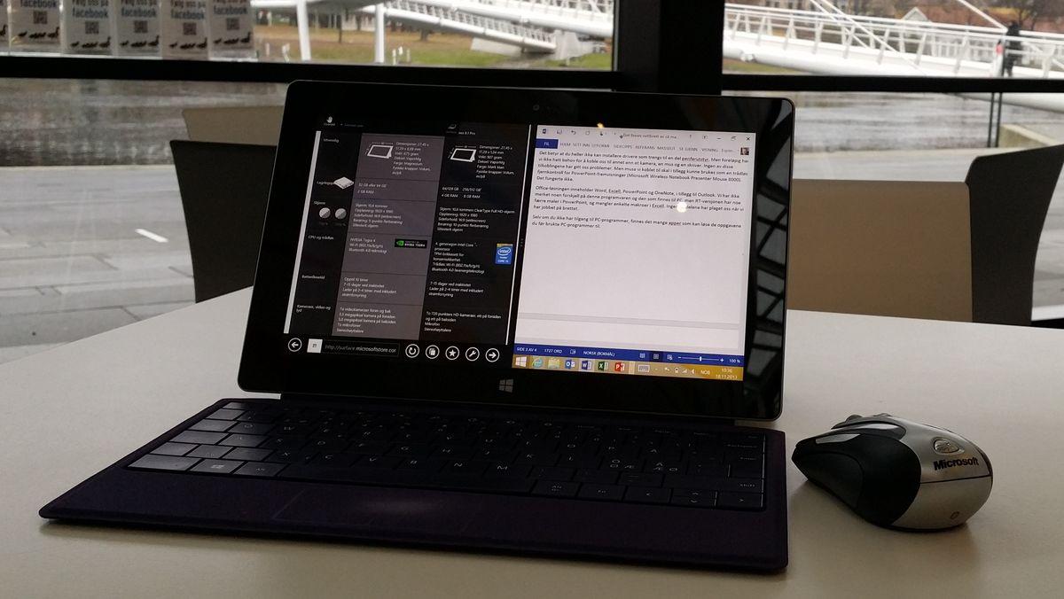 TEST: Microsoft Surface 2 - Underholdning