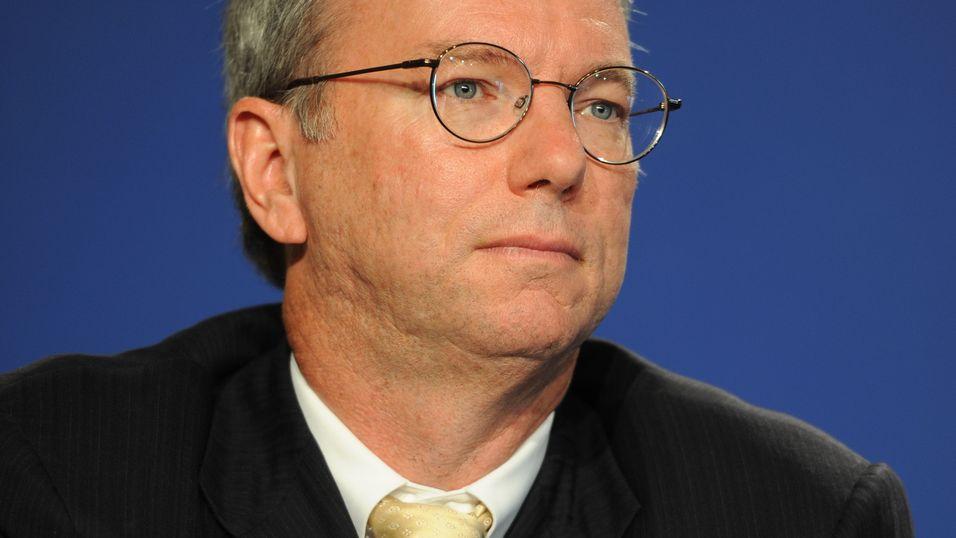 Google-sjefen Eric Schmidt.
