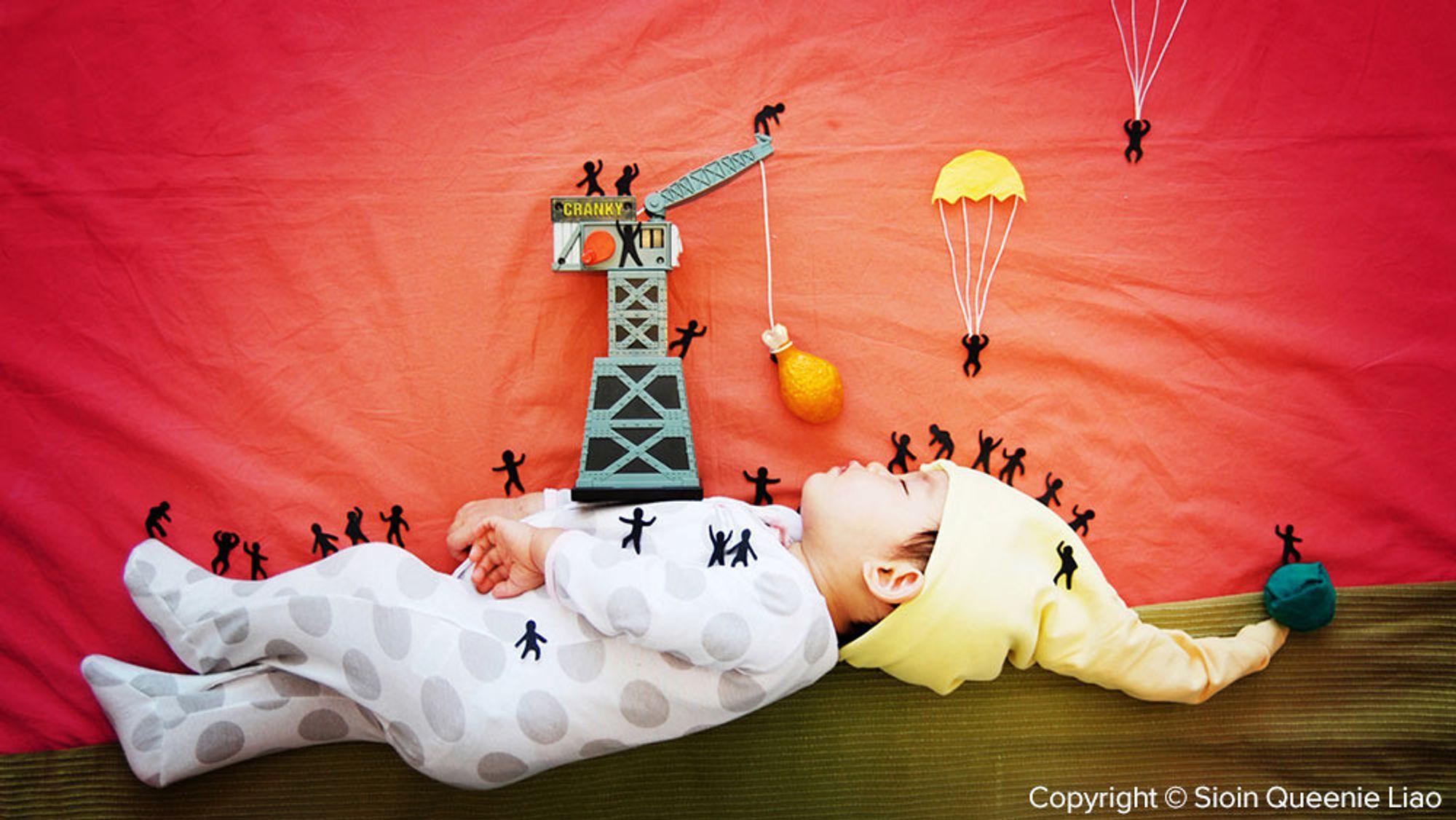 Hva skjer egentlig i barns drømmer?