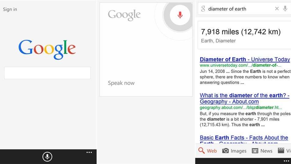 Google rekker ut en hånd til Windows Phone