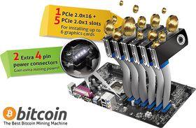 Egne hovedkort for Bitcoingraving ble lansert i fjor.