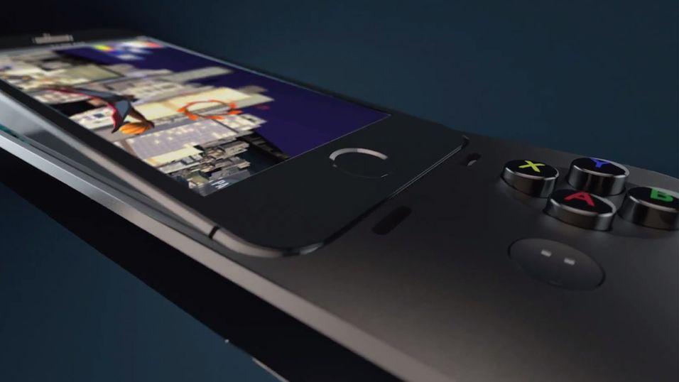 Logitech slipper spillkontroller til iOS 7-enheter