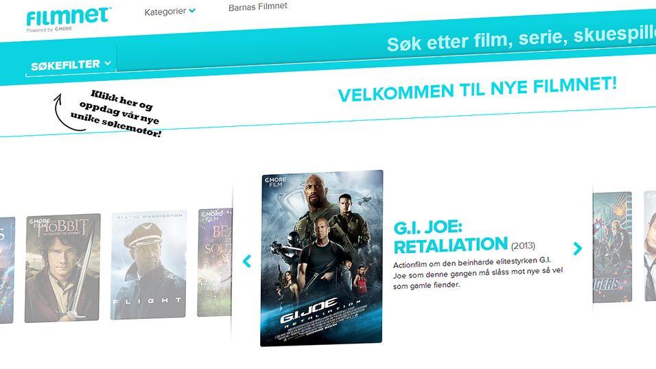 Norske Filmnet får unik søkemotor