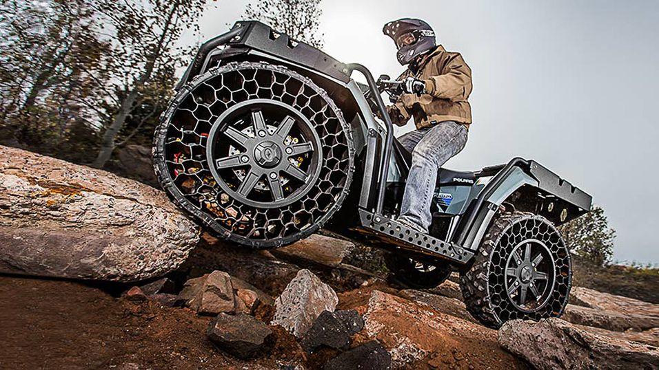 Disse hjulene kan ikke punktere