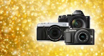 Disse kameraene ønsker vi oss fra julenissen