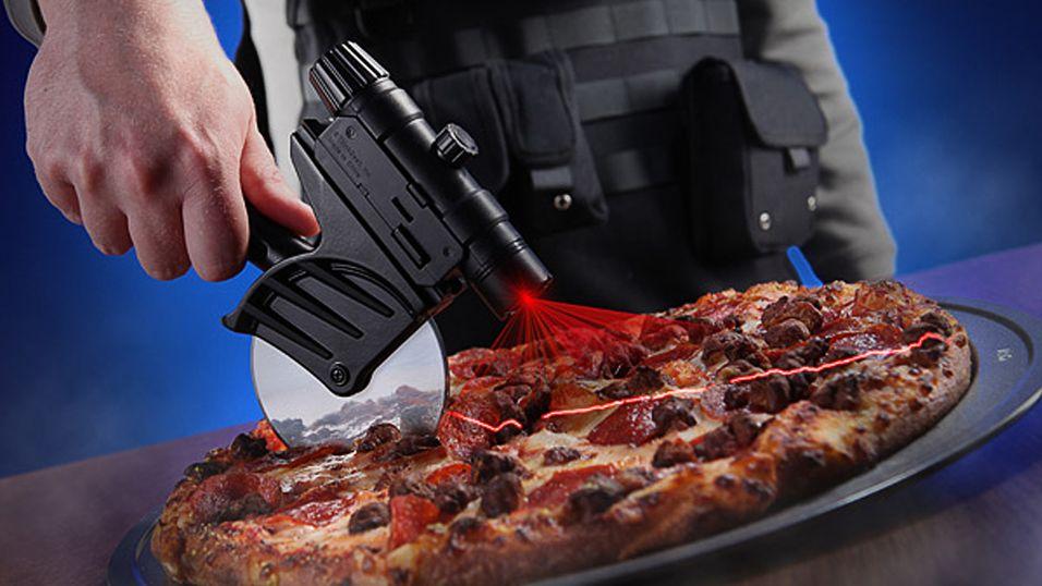 Kutt opp pizzaen som en proff