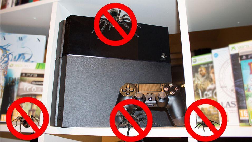 Noe feil med PS4-en din? Ikke send den tilbake full av insekter