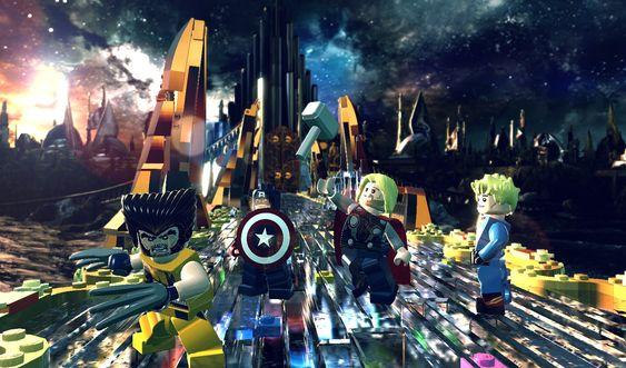 Thor tar deg med til Asgard for å stoppe Loki.