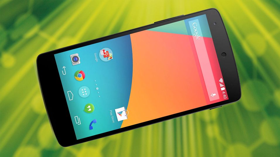 KONKURRANSE: Se hvem som vant en Google Nexus 5