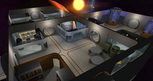Astrobase Command lar deg bygge tredimensjonale rombaser