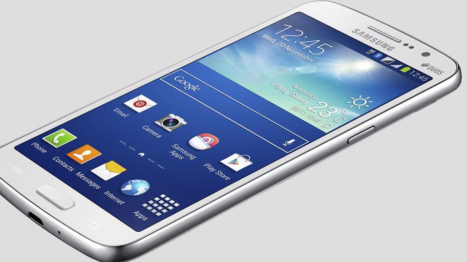 Samsung med ny, stor mobil
