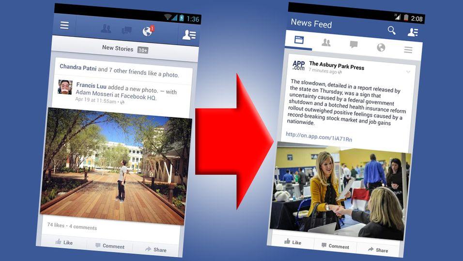Slik blir nye Facebook på Android