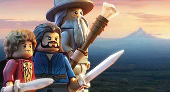 Hobbiten kjem i LEGO-drakt