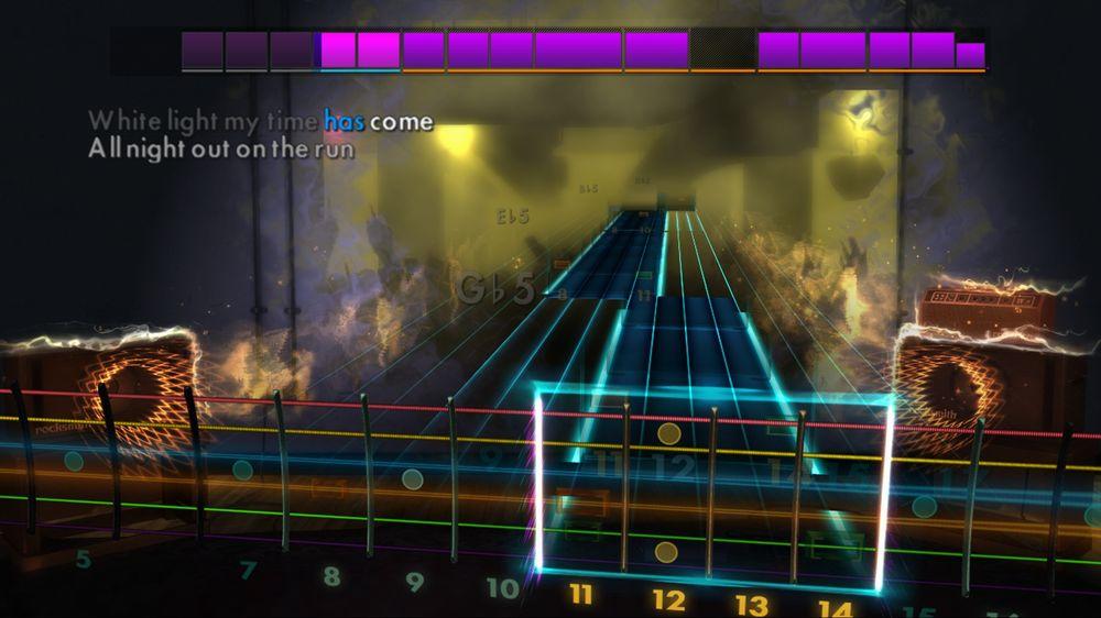 Om du spelar ei låt godt nok vil du ende opp i Master Mode der alle instruksjonar forsvinn.