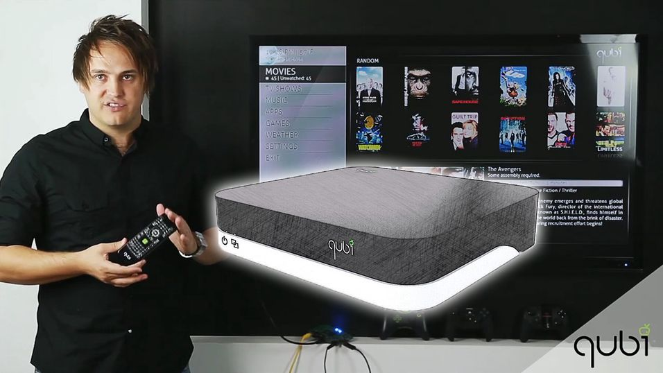 Denne boksen vil ta over TV-stua di