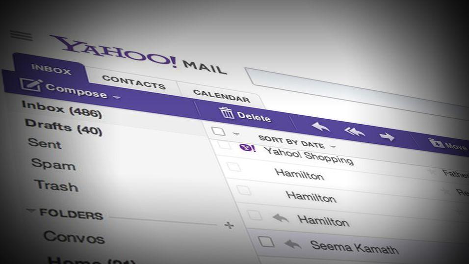 Yahoo trygler ansatte om å bruke Yahoo Mail