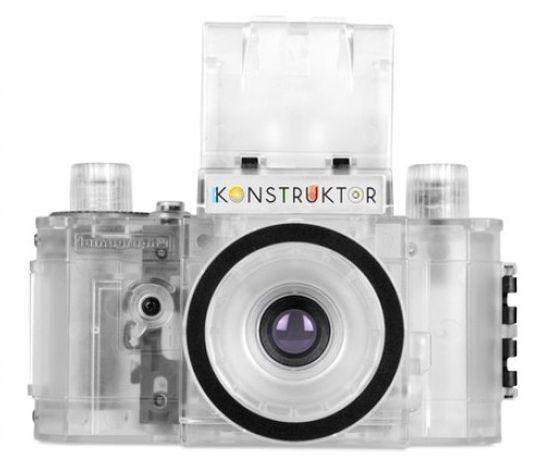 Et gjennomsiktig kamera duger ikke til fotografering.