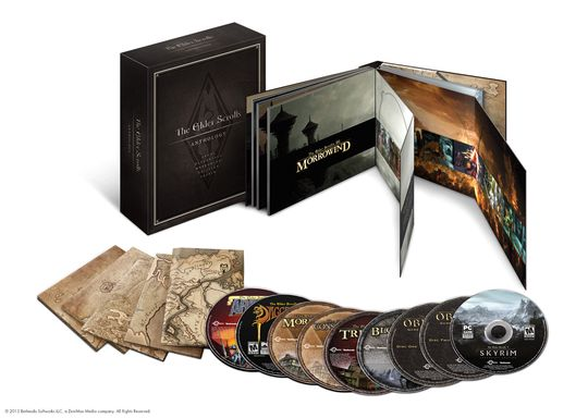 Elder Scrolls Anthology.
