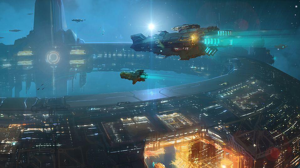 Ambisiøst science fiction-spill i mål på Kickstarter