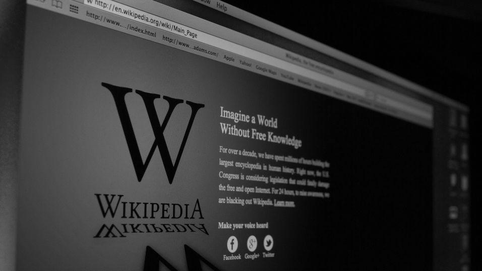 Nå skal Wikipedia holdes mer ansvarlige for innholdet