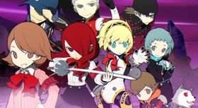 Persona Q: Shadow of the Labyrinth for 3DS byr på Chibi-figurer.