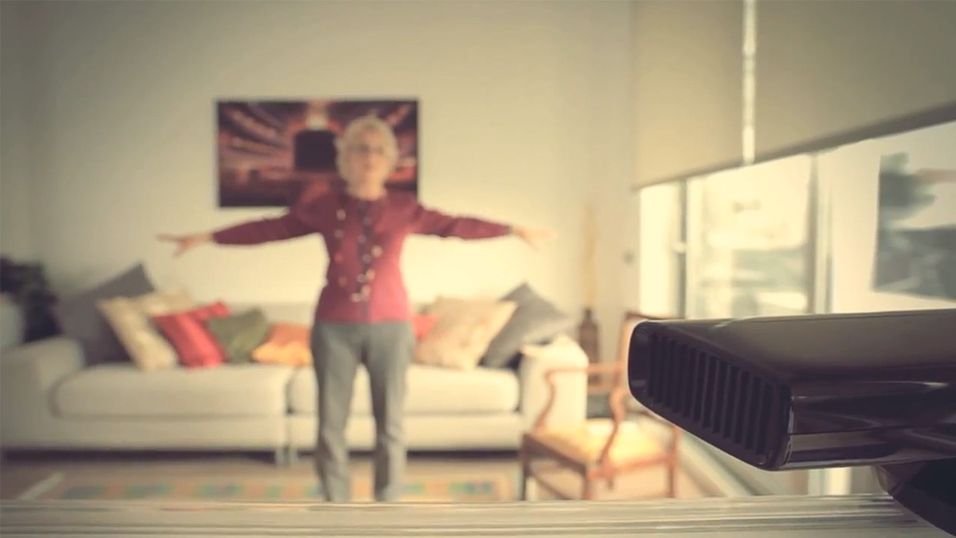 Ta legebesøket via Kinect