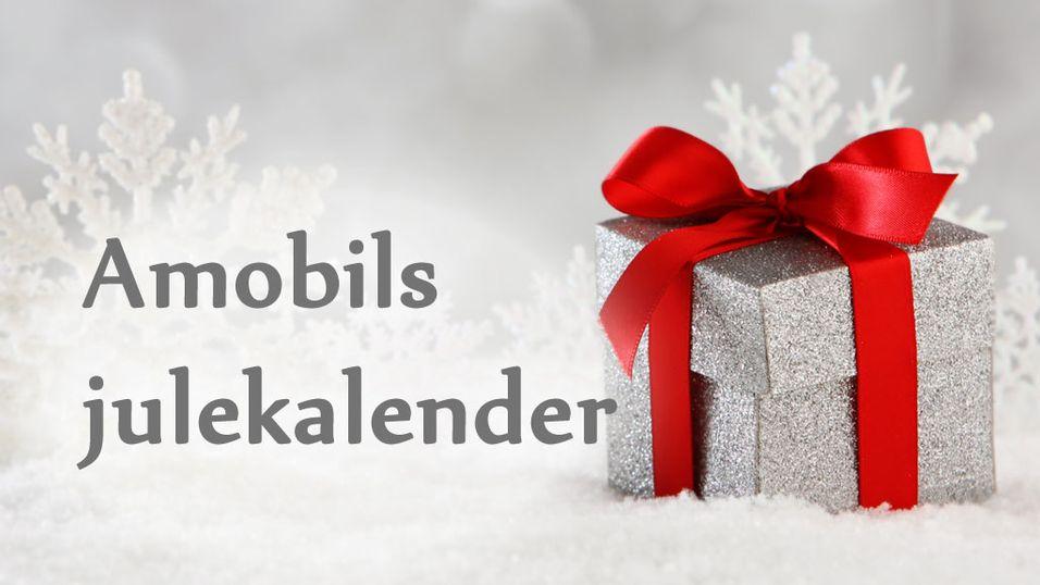 Disse vant i Amobils julekalender