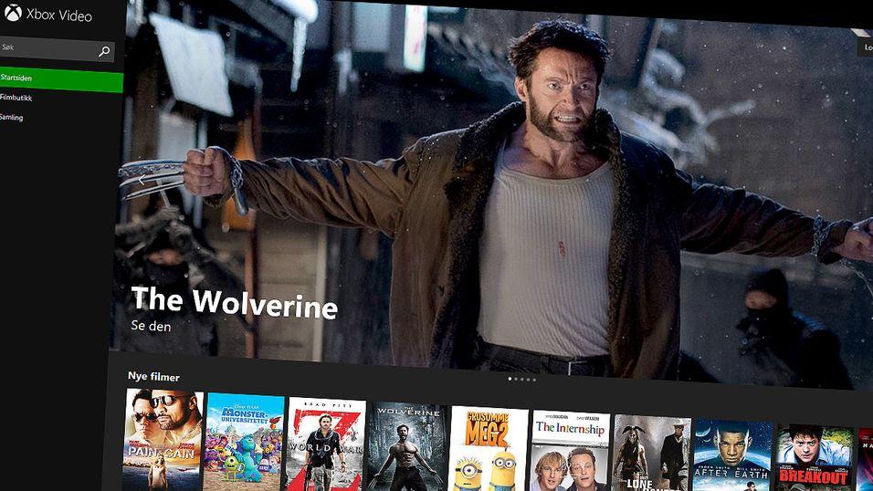 Xbox Video kommer til nettleseren