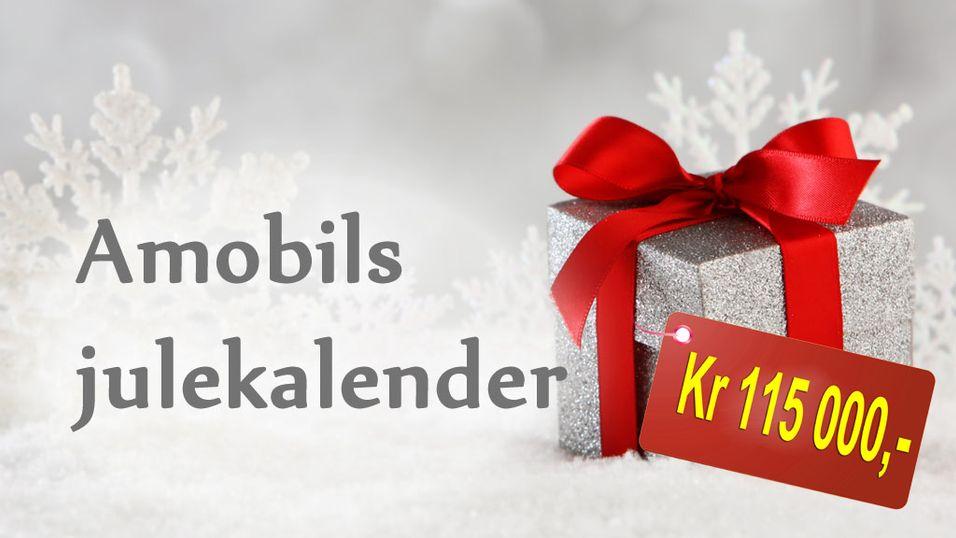 Tidenes råeste Amobil-julekalender