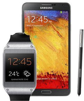 Samsung Galaxy Note 3 og en Galaxy Gear er premien én av dagene.