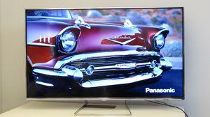 Vi brukte Panasonics nyeste 4K-TV til å vise bilder til våre forsøkskaniner.