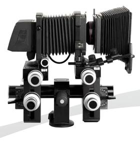 Med et Sinar-kamera har du full kontroll.
