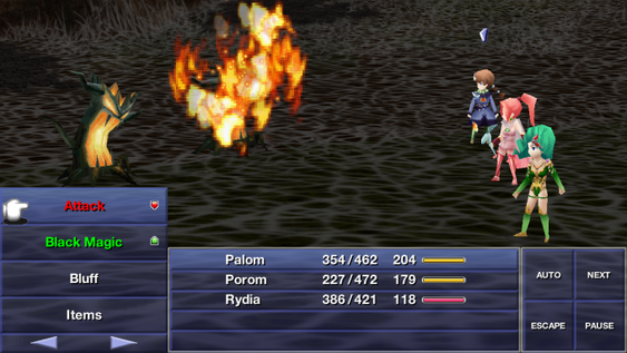Final Fantasy Iv: The After Years.