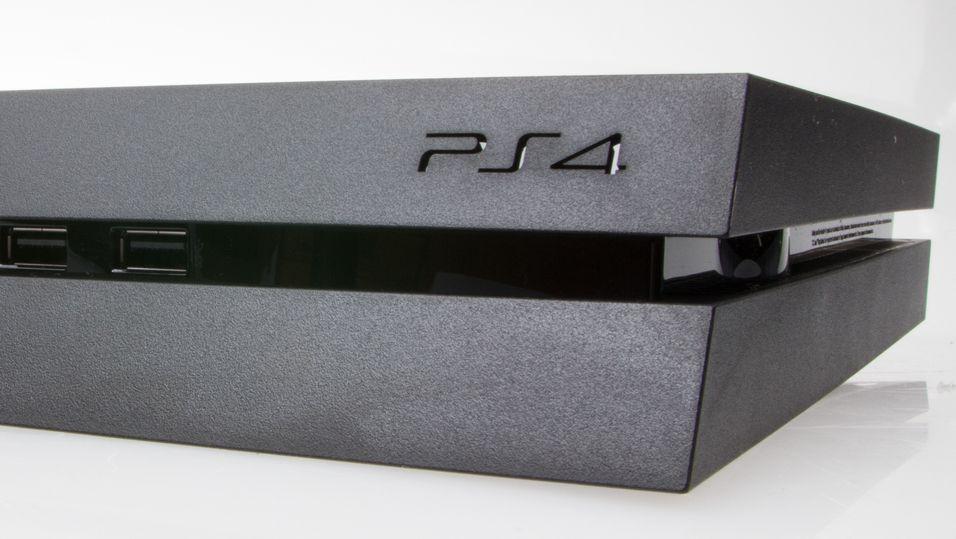 PlayStation 4 er en elegant boks.