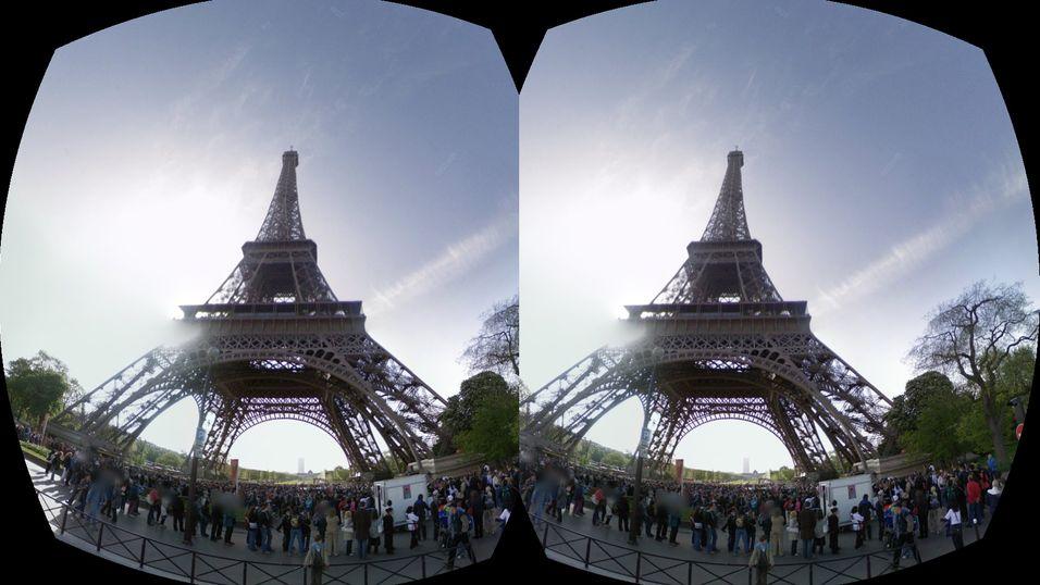 Eiffeltårnet er littegrann mer imponerende når du kan se det foran deg, og ikke bare på skjermen.
