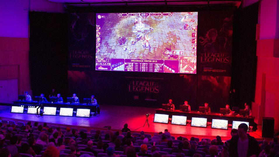 DreamHack Winters League of Legends-turnering slet med frafall.