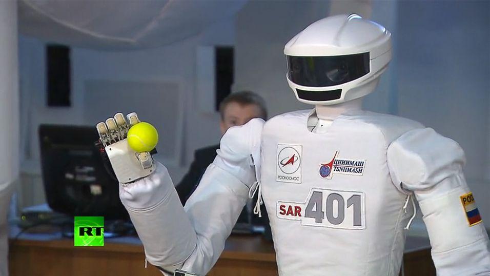 Russisk kosmobot klar for tur til verdensrommet
